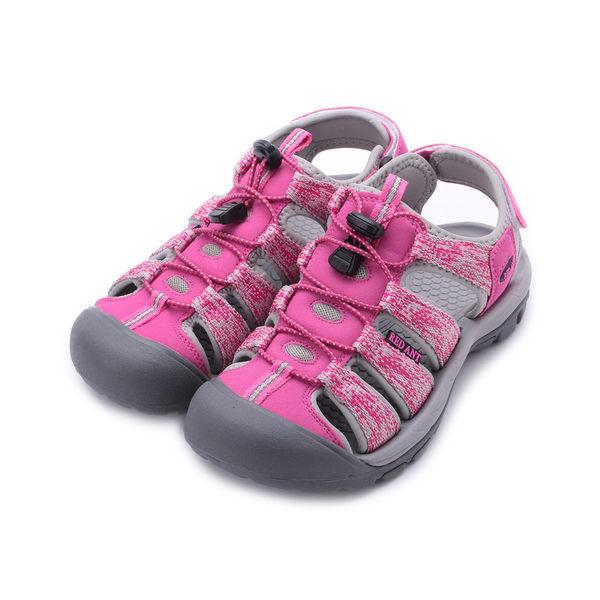 RED ANT 護趾運動涼鞋 桃紅 K1 女鞋 鞋全家福