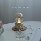無味清歡 復古USB小夜燈 法式生活 浪漫星辰 民宿 咖啡廳道具臺燈 快速出貨