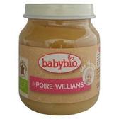 Babybio 有機洋梨鮮果泥130公克