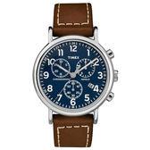 TIMEX 天美時 三眼計時 手錶(TXTW2R42600)