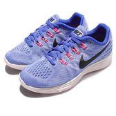 【五折特賣】Nike 慢跑鞋 Wmns Lunartempo 2 藍 黑 白底 運動鞋 休閒鞋 基本款 女鞋【PUMP306】 818098-408