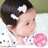 韓版雙毛球星星流蘇髮夾 寶寶髮飾