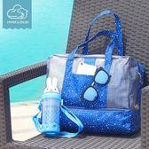 沙灘包 游泳包手提沙灘背包乾濕分離包男女防水包大容量游泳袋旅行收納包【美物居家館】