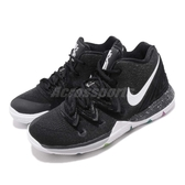Nike Kyrie 5 PS Black Magic 黑 白 彩色 籃球鞋 Irving 5代 童鞋 中童鞋 運動鞋【PUMP306】 AQ2458-901