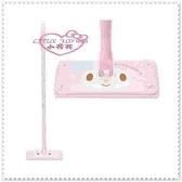 小花花日本精品Hello Kitty 美樂蒂方型可伸縮除塵拖把 粉色大臉點點蝴蝶結33115801