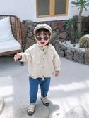 兒童外套 男童外套秋裝新品寶寶韓版刺繡牛仔上衣時尚兒童洋氣百搭夾克 快速出貨