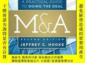 二手書博民逛書店M&a:罕見A Practical Guide To Doing The Deal (wiley Finance)