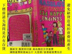 二手書博民逛書店HASSLES,罕見HEART-PINGS! AND SAD,HAPPY ENDINGS…麻煩,心碎!悲傷,幸福的