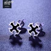 925純銀男士耳釘 個性潮男韓國時尚個性氣質銀耳飾品 防過敏學生       伊芙莎