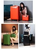 行李箱/拉桿箱 行李箱女24寸拉桿箱男萬向輪ins網紅新款大容量學生旅行密碼箱子 玫瑰女孩