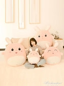 兔子毛絨玩具可愛抱枕抱著陪你睡覺公仔床上娃娃玩偶生日禮物女孩 黛尼時尚精品
