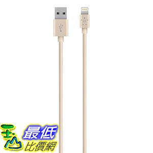 [美國直購] Belkin 數據線 Apple MFi Certified Lightning to USB ChargeSync Cable iPhone 6