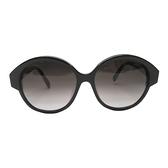 CHANEL 香奈兒 黑色圓框太陽眼鏡Suglasses 【BRAND OFF】