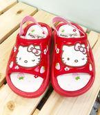 【震撼精品百貨】Hello Kitty 凱蒂貓~台灣製Hello kitty正版兒童拖鞋-紅草莓(13~18號)