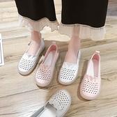 豆豆鞋孕婦豆豆鞋女百搭2021夏新款透氣軟底護士媽媽舒適平底單鞋瓢鞋秋 雲朵走走
