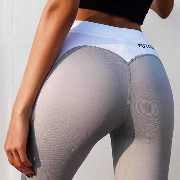萬聖節狂歡   歐美健身褲緊身跑步運動褲瑜伽褲女速干外穿高腰彈力夏季   mandyc衣間