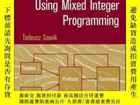二手書博民逛書店Scheduling罕見in Supply Chains Using Mixed Integer Programm