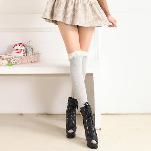 長筒襪 蕾絲 薄款 時尚 過膝襪 長筒襪【FS035】 ENTER  12/08