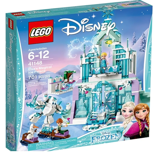 LEGO 樂高 DISNEY系列 Elsa's Magical Ice Palace 艾莎的魔幻冰雪宮殿 41148
