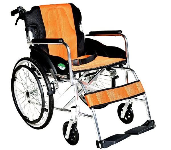 【健康購】頤辰 機械式輪椅 YC-868/20-降低座高 背可折