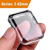 【美國代購】JulkApple watch 3 , iwatch 螢幕保護外 殼0.3mm 高清透明超薄 (42mm)