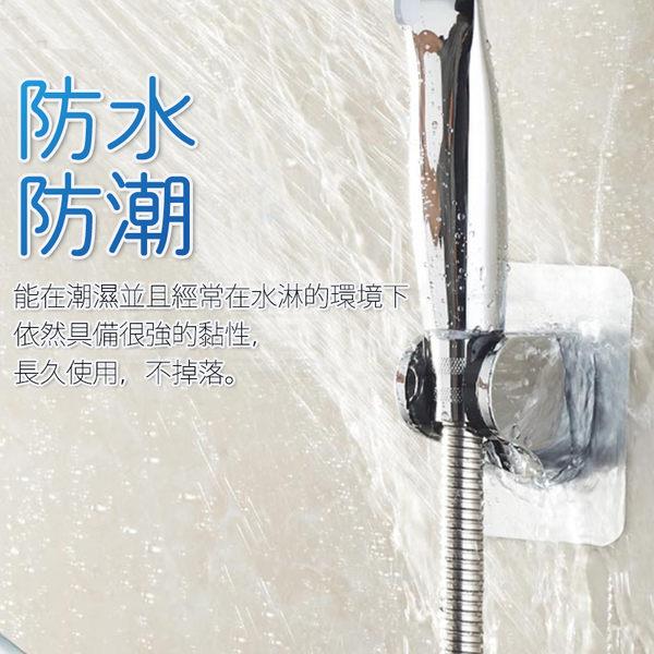 無痕蓮蓬頭固定架 無痕掛架 角度可調 超強黏性 免鑽孔 蓮蓬頭支架(V50-2408)