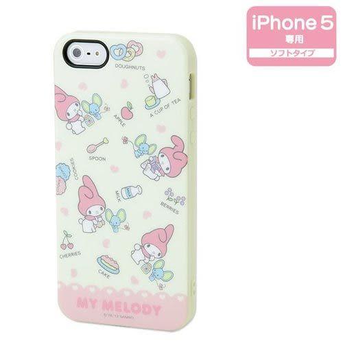 ★funbox生活用品★《Sanrio》美樂蒂 甜蜜點心 iPhone5保護殼_578525