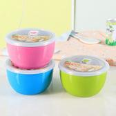 ✭米菈生活館✭【P292】多用途帶蓋泡麵碗 不鏽鋼 日式 泡麵杯 大碗 餐具 家用 泡麵杯碗 大容量