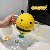 洗澡玩具寶寶洗澡玩具抖音網紅款小蜜蜂噴泉花灑兒童沙灘游泳館戲水玩具 阿卡娜