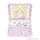 新款蘋果平板ipad保護套air3/2/1鍵盤mini5/4發光卡通YYJ 阿卡娜