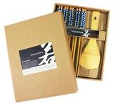 【卡漫城】 特價 日式 和風 竹筷 飯勺 禮盒 飯匙 筷子 竹製 藍 櫻花 楠竹~ 1 6 0 元