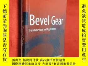 二手書博民逛書店Bevel罕見Gear: Fundamentals and Ap