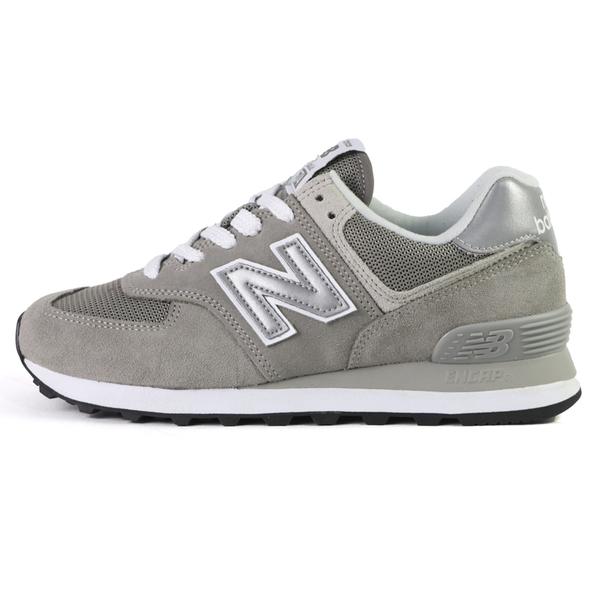 New Balance 574 灰色 D楦 復古 麂皮 休閒鞋 男女款 NO.B2153【新竹皇家 ML574EGG D】