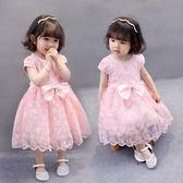 女寶寶連衣裙小童周歲禮服6-12個月女嬰兒夏裝公主裙0-1一2-3-4歲