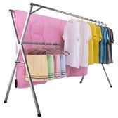 曬衣架衣架落地折疊室內雙桿式晾衣桿陽臺家用伸縮涼曬衣架芊惠衣屋igo