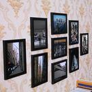 照片墻 - 簡約裝飾客廳相框墻 jy創意臥室相框掛墻九宮格組合歐式相片墻【快速出貨超夯八折】