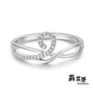 鑽石重量:27顆鑽約0.07克拉 鑽石顏色/淨度:F/VS2  貴金屬材質:18K金