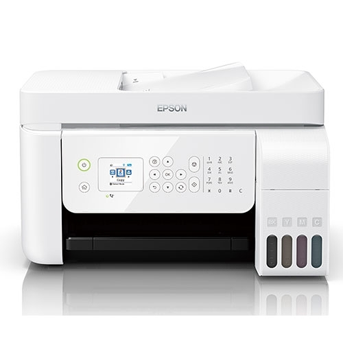 EPSON 愛普生 L5196 A4 連續供墨 雙網 4合1 複合機 印表機 白色 C11CG85509