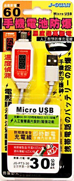 人工智慧防爆充電線Micro 30CM
