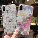 【SZ35】iPhone X手機殼 美人魚魚鱗 全包軟殼 iPhone7/8 plus手機殼 iPhone 6s手機殼