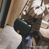 復古小包包女包秋冬新款時尚網紅馬鞍包寬肩帶百搭單肩斜背包ATF 艾瑞斯生活居家