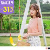 《AB6865-》素面質感優雅風寬鬆背心 OB嚴選