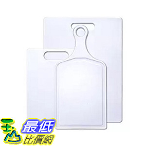 [106美國直購] Farberware 3-Piece Poly Cutting Board Set, Assorted Sizes