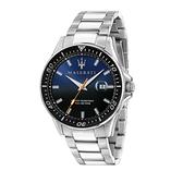 MASERATI 瑪莎拉蒂 經典三針時尚腕錶44mm(R8853140001)