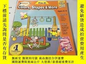 二手書博民逛書店英文原版:colors,Shapes罕見& MoreY18297