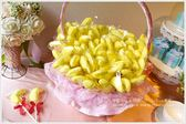 幸福朵朵【義大利香蕉造型大棉花糖x100支+大提籃x1個】二次進場/送客喜糖/生日/畢業/來店禮