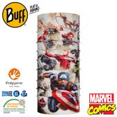 【BUFF 西班牙 超級英雄 經典頭巾 Plus 復仇者聯盟】121554/漫威/圍脖/帽子/口罩/圍巾/吸溼排汗