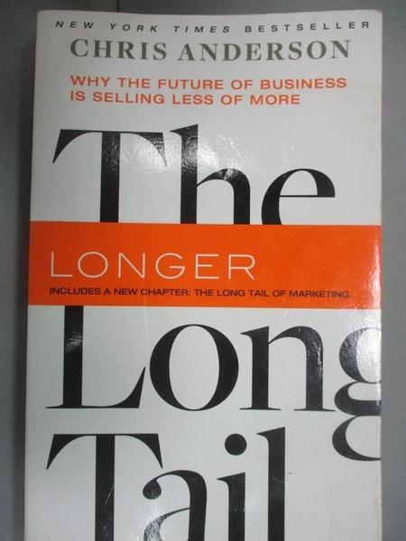 【書寶二手書T1/財經企管_LMN】The Long Tail-Why the Future of …_Anderson, Chris