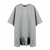 『小鱷魚童裝』寬版荷葉下擺洋裝(10號~16號)553353
