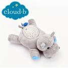 美國cloud b 聲光音樂夜燈/安撫睡眠玩具/夜燈-河馬 CLB7472-HP